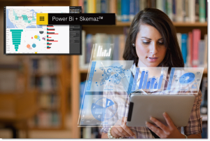 Power BI + Skemaz